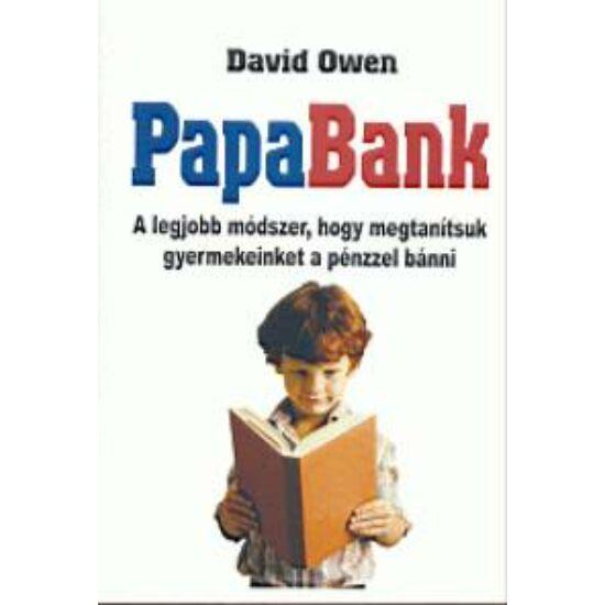 David Owen: Papabank (részletes könyvkivonat) - kézirat